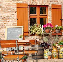 Aussenansicht Restaurant Alte Mühle Friedersdorf